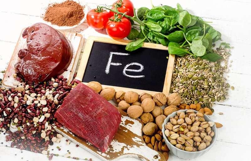 hierro como nutriente